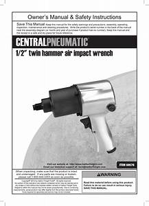 Harbor Freight 1 2 In Heavy Duty Air Impact Wrench Product