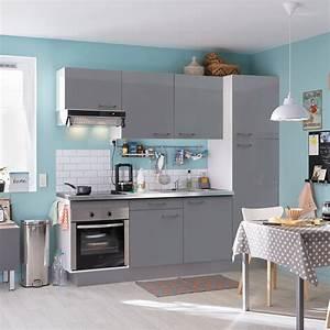 Pose d39une cuisine equipee complete leroy merlin for Petite cuisine équipée avec meuble de rangement salle a manger pas cher