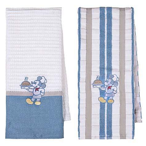 disney kitchen towels your wdw disney kitchen towel set gourmet mickey