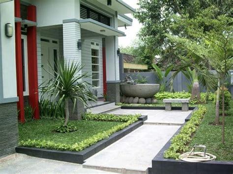Fresh Front House Garden Design