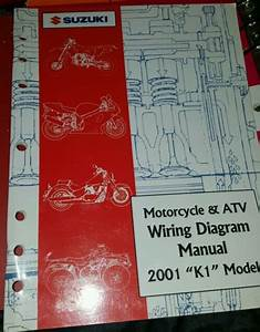 Suzuki Service Manual Motorcycle  U0026 Atv Wiring Diagram 2001