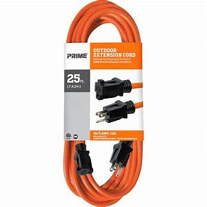 Prime Wire  U0026 Cable Outdoor Extension Cord  U2014 25ft   16  3