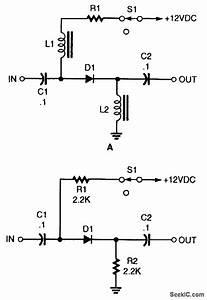 Basic Pin Diode Rf Switch - Control Circuit
