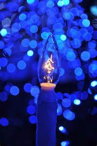 blue christmas candle never saw blue pinterest