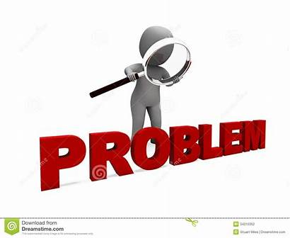 Problem Clipart Difficulty Trouble Character Means Meaning