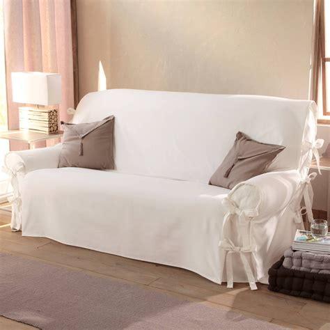 housse canapé deux places housse de canapé 2 places avec accoudoirs canapé idées