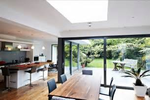 extensions kitchen ideas house with floor to ceiling glass and beautiful nature views