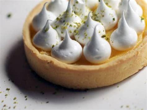 recette mini tarte au citron meringuee