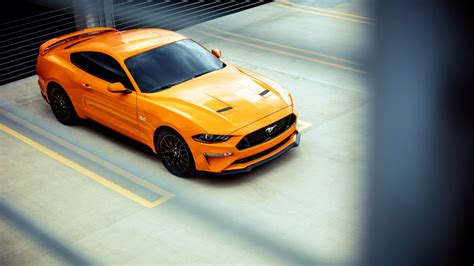 Wallpaper Ford Mustang 2018 4k Automotive Cars 11070