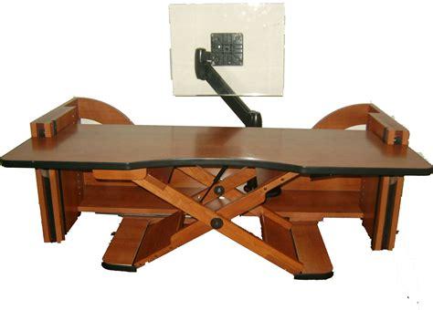 adjustable height desk models   work office
