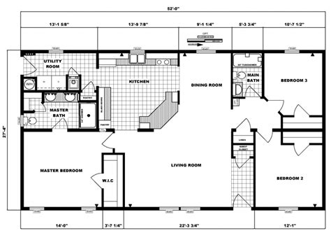 three home plans 3 bedroom ranch style floor plans photos and