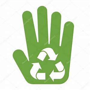 Logotipo reciclaje Regístrate en Palma — Vector de stock ...