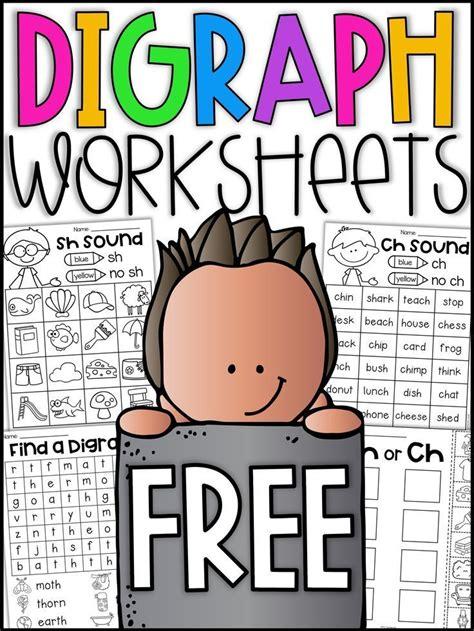digraph worksheets ch  sh  grade phonics