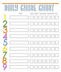 family chore chart template 10 free word excel pdf With chore chart for adults templates