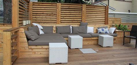 montreal outdoor living terrasse minimaliste  outremont