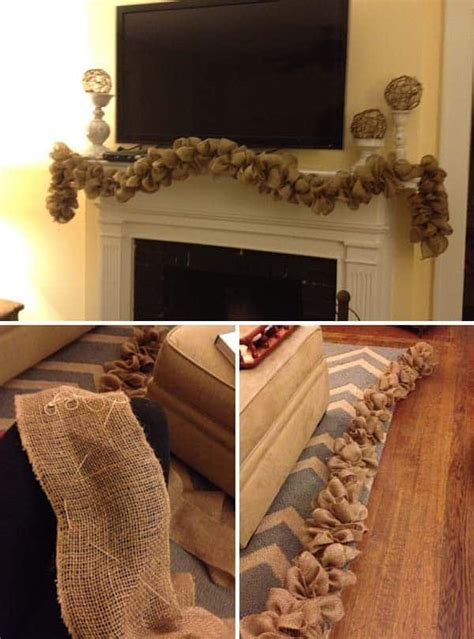 insanely beautiful burlap decor ideas