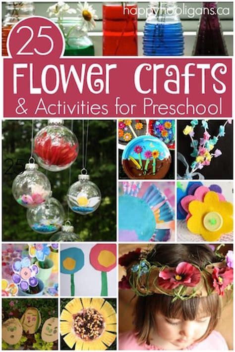 flower crafts  activities happy hooligans