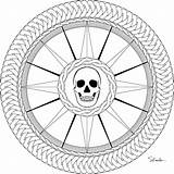 Compass Rose Pirate Coloring Drawing Printable Version Donteatthepaste Adult September Embroider Pyrography Enjoy Larger sketch template