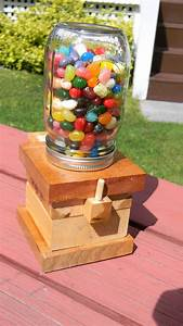 How To Make A Jelly Bean Dispenser Plans DIY Free Download