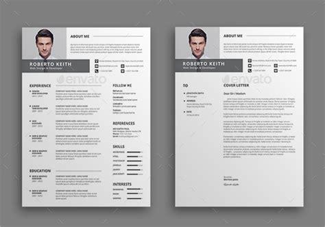 modern resume templates   psd