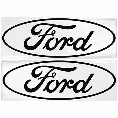 Ford Mustang Vector Emblem Decal Clipart Oval