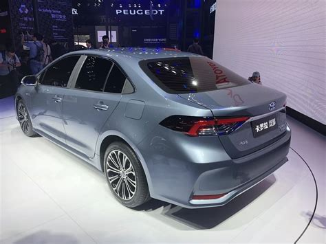 2020 Toyota Altis by 2020 Toyota Corolla Altis Unveiled In China Autoportal