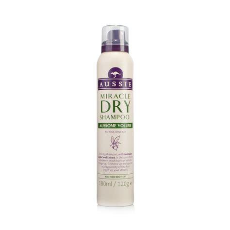 Aussie dry shampoo volume