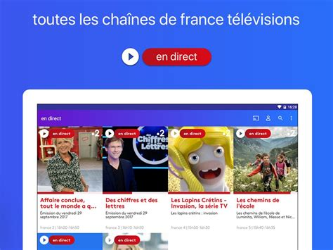 La Tv En Direct Et Replay Gratuitement For