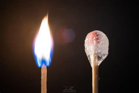 shot  ice  fire exploring  theme macro