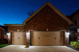 led garage driveway and house number lighting traditional outdoor lighting st louis by