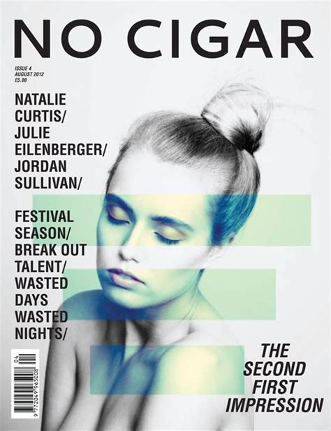 no cigar magazine cover graphic design and everyhing in between p