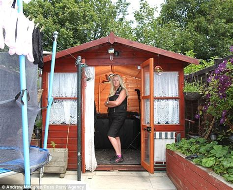 living in a shed former millionaire moved into s garden months