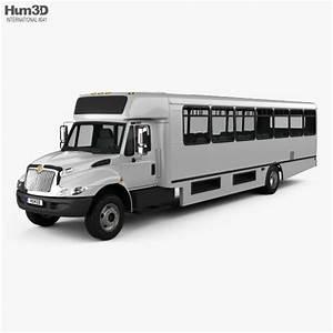 International Truck Bus 3d Models