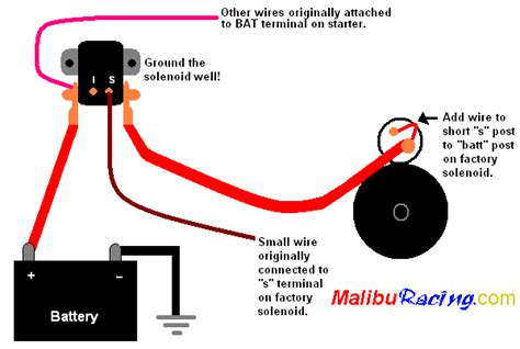 Ford 460 Torque Mini Starter Wiring Diagram by Remote Starter Solenoid