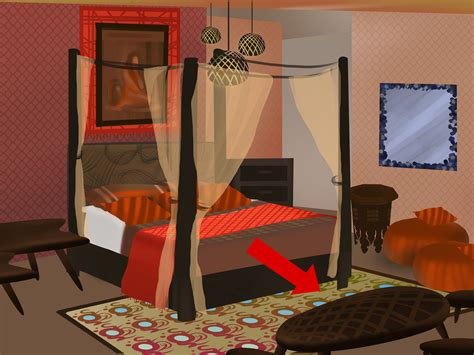 ways  decorate  moroccan themed bedroom wikihow