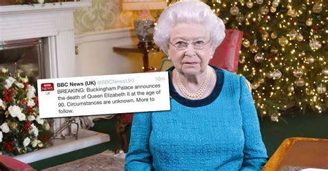 queen dead  buckingham palace confirms metro news