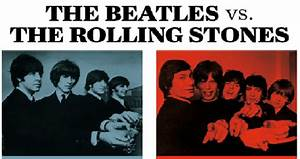 The Beatles Vs The Rolling Stones Social Musik