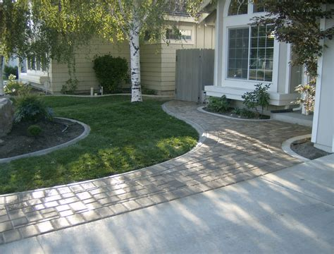 landscaping with pavers ideas garden and landscape pathways pavers steve snedeker s landscaping and gardening blog