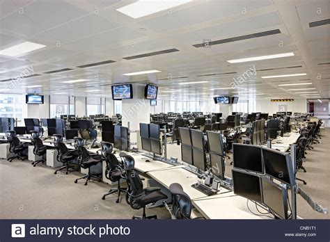 Trading Floor Screens Seats Empty Tv News Stock Photo Kitchens Appliances Best Store For Kitchen Pendant Lighting Above Sink Light Fittings Cheap Backsplash Tile Covers Small French Island Tiles Ideas