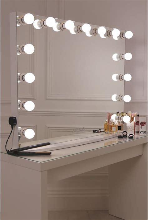 lullabellz hollywood glow xl pro vanity mirror diy