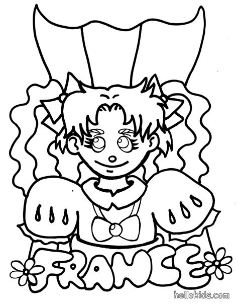 france coloring pages france