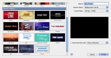 imovie trailer templates imovie 11 scores big with effects trailers the mac observer