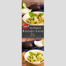 Avocadolachs Bowl  Rezept  Abendessen  Low Carb