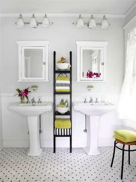 creative bathroom towel storage ideas