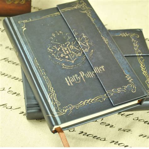 bureau en gros agenda harry potter livre vintage notebook diary book