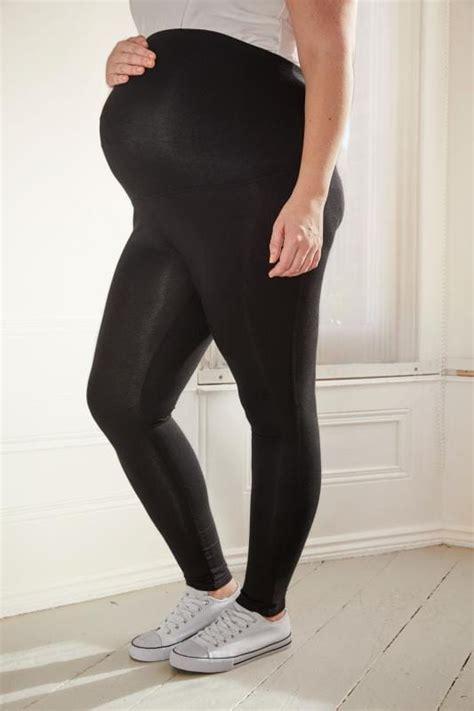 leggings maternity bump cotton elastane comfort panel legging bequemer baumwoll einsatz still above double
