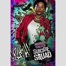 Suicide Squad New Character Posters Are Just Plain Bad Collider