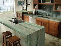 kitchen counter materials 30 Unique Kitchen Countertops Of Different Materials | DigsDigs