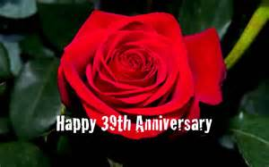 39th wedding anniversary - 39th Wedding Anniversary