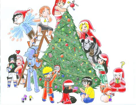 christmas tree by kevichan on deviantart